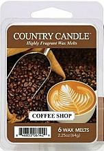Parfums et Produits cosmétiques Cire parfumée pour lampe aromatique - Country Candle Coffee Shop Wax Melts