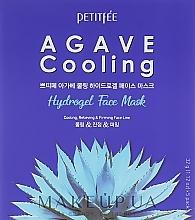 Parfums et Produits cosmétiques Masque hydrogel à l'extrait d'agave pour visage - Petitfee&Koelf Agave Cooling Hydrogel Face Mask
