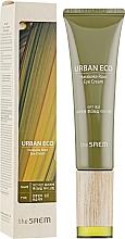Parfums et Produits cosmétiques Crème à l'extrait de racine de lin de Nouvelle-Zélande pour contour des yeux - The Saem Urban Eco Harakeke Root Eye Cream Tube Type
