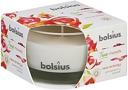 Parfums et Produits cosmétiques Bougie parfumée en verre, Pamplemousse et Gingembre, 50/80 mm - Bolsius True Moods Candle