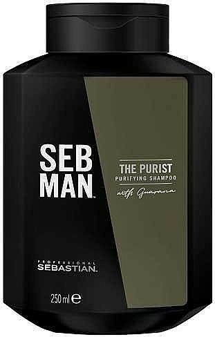 Shampooing volumisant - Sebastian Professional Seb Man The Purist Purifying Shampoo
