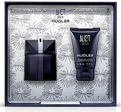 Parfums et Produits cosmétiques Thierry Mugler Alien Man Gift Set - Coffret cadeau (eau de toilette/50ml + shampooing cheveux et corps/50ml)
