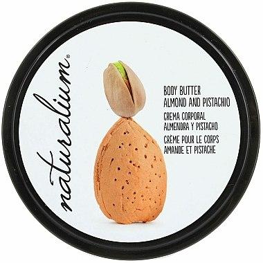 Crème à l'extrait d'amande et pistache pour corps - Naturalium Body Butter Almond And Pistachio — Photo N1