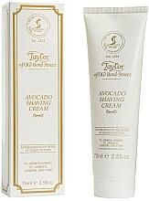 Parfums et Produits cosmétiques Crème à raser à l'avocat - Taylor of Old Bond Street Avocado Luxury Shaving Cream