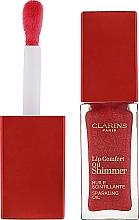 Parfums et Produits cosmétiques Huile scintillante pour lèvres - Clarins Lip Comfort Oil Shimmer