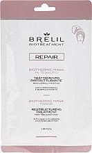 Parfums et Produits cosmétiques Masque en tissu réparateur pour cheveux traités - Brelil Bio Treatment Repair Mask Tissue