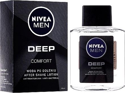 Lotion après-rasage antibactérienne - Nivea Men Deep Comfort After Shave lotion
