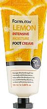 Parfums et Produits cosmétiques Crème à l'extrait de citron pour pieds - FarmStay Lemon Intensive Moisture Foot Cream