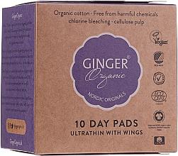 Parfums et Produits cosmétiques Serviettes hygiéniques - Ginger Organic