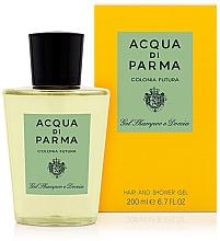 Parfums et Produits cosmétiques Acqua Di Parma Colonia Futura - Gel douche et shampooing parfumé