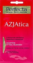 Parfums et Produits cosmétiques Masque au ginseng et céramides pour visage, cou et décolleté - Perfecta Azjatica Mask For Face Neck And Decolletage