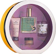 Parfums et Produits cosmétiques Nuxe Culte Prodigieux Box - Coffret cadeau(huile/100ml + crème cheveux/30ml + baume à lèvres/15ml + bougie)