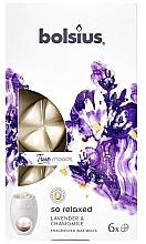 Parfums et Produits cosmétiques Fondants de cire parfumée, Lavande et Camomille - Bolsius True Moods So Relaxed Lavender & Chamomile