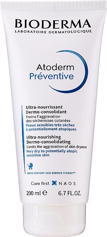 Crème dermo-consolidante pour enfants - Bioderma Atoderm Preventive Nourishing Cream Dermo-Consolidating