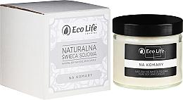 Parfums et Produits cosmétiques Bougie parfumée de soja naturel, anti-moustiques - Eco Life Candles