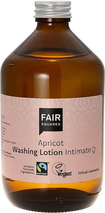 Lotion d'hygiène intime à l'abricot - Fair Squared Apricot Washing Lotion Intimate — Photo N1