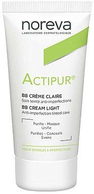 BB- crème, soin teinté anti-imperfections - Noreva Laboratoires Actipur Tinted BB Cream