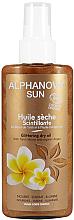 Parfums et Produits cosmétiques Huile sèche scintillante bio au monoï de tahiti et huile d'argan pour visage, corps et cheveux - Alphanova Sun Oil Dry Sparkling