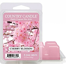Parfums et Produits cosmétiques Cire parfumée pour lampe aromatique - Country Candle Cherry Blossom Wax Melts