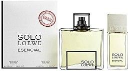Parfums et Produits cosmétiques Loewe Solo Esencial - Coffret (eau de toilette 100ml + eau de toilette 30ml)