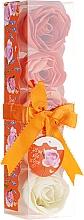 Parfums et Produits cosmétiques Confettis de savon parfumé à l'orange, 5pcs - Spa Moments Bath Confetti Orange
