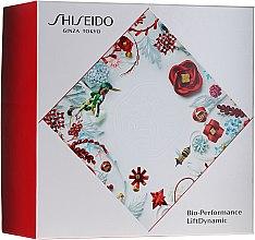 Parfums et Produits cosmétiques Kit visage - Shiseido Bio Performance LiftDynamic Holiday Kit (crème liftante/50ml + mousse nettoyante/15ml + lotion équilibrante/30ml + concentré activateur énergisant/5ml)