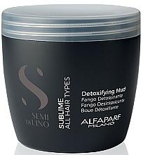 Parfums et Produits cosmétiques Boue à l'acide lactique pour cheveux et cuir chevelu - Alfaparf Semi Di Lino Sublime Detoxifying Mud Treatment