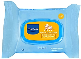 Parfums et Produits cosmétiques Lingettes nettoyantes après-soleil - Mustela Bebe After Sun Wipes