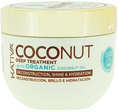 Parfums et Produits cosmétiques Masque à l'huile de noix de coco pour cheveux - Kativa Coconut Oil Mask