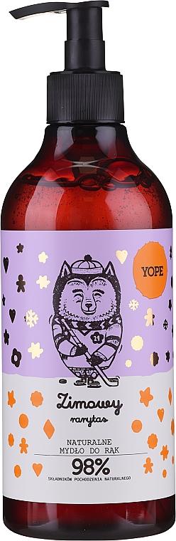 Savon liquide à la vanille pour mains - Yope Winter Rarity