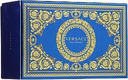 Parfums et Produits cosmétiques Versace Man Eau Fraiche - Coffret (eau de toilette/100ml + eau de toilette/10ml + trousse de toilette)