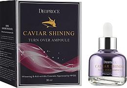 Parfums et Produits cosmétiques Sérum au caviar pour visage - Deoproce Caviar Shining Turn Over Ampoule