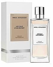 Parfums et Produits cosmétiques Angel Schlesser Les Eaux d'un Instant Vibrant Sandalwood - Eau de Toilette