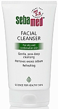 Parfums et Produits cosmétiques Nettoyant à l'extrait d'hamamélis de Virginie pour visage - Sebamed Facial Cleanser For Oily And Combination Skin