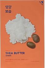 Parfums et Produits cosmétiques Masque tissu à l'extrait de beurre de karité pour visage - Holika Holika Pure Essence Mask Sheet Shea Butter