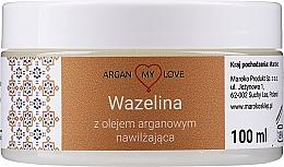 Parfums et Produits cosmétiques Vaseline à l'huile d'argan pour visage et corps - Argan My Love