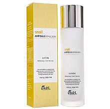 Parfums et Produits cosmétiques Émulsion éclaircissante au musc d'escargot pour visage - Ekel Snail Ampoule Emulsion