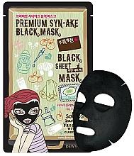 Parfums et Produits cosmétiques Masque tissu au peptide de venin de serpent pour visage - Dewytree Premium Synake Black Sheet Mask