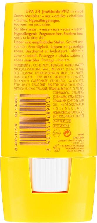 Stick protection solaire pour lèvres et zones sensibles - Bioderma Photoderm Max SPF50+ Large Stick — Photo N2