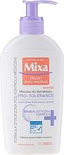 Parfums et Produits cosmétiques Lait démaquillant pour visage et yeux - Mixa Pro-Tolerance Cleansing Milk