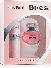 Parfums et Produits cosmétiques Bi-Es Pink Pearl - Set (eau de parfum/50ml + déodorant spray/150ml)