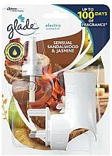Parfums et Produits cosmétiques Diffuseur de parfum électrique, Bois de santal et jasmin - Glade Electric Air Freshener Bali Sensual Sandalwood & Jasmine Brise