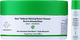Parfums et Produits cosmétiques Drunk Elephant Slaai Makeup-Melting Butter Cleanser - Set soin visage (beurre démquillant/110g + booster/3g)
