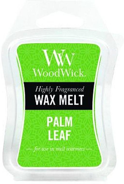 Cire parfumée, Feuille de palmier - WoodWick Wax Melt Palm Leaf