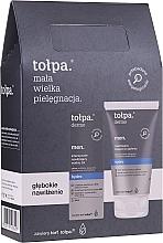 Parfums et Produits cosmétiques Coffret cadeau - Tolpa Dermo Men Hydro (a/sh/balm 125 ml + f/gel 75 ml)