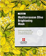 Parfums et Produits cosmétiques Masque tissu à l'olive méditerranéenne - Leaders 7 Wonders Mediterranean Olive Brightening Mask