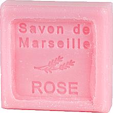 Parfums et Produits cosmétiques Savon de Marseille en forme carré à la rose - Le Chatelard 1802 Soap Savon De Marseille Rose