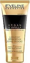 Parfums et Produits cosmétiques Crème à l'huile d'argan et vanille pour mains et ongles - Eveline Cosmetics Spa Professional Argan&Vanilla