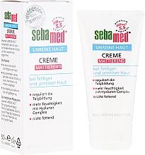 Parfums et Produits cosmétiques Crème matifiante au panthénol pour visage - Sebamed Clear Face Mattifying Cream