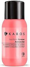 Parfums et Produits cosmétiques Dissolvant pour vernis à ongles sans acétone à la vitamine F - Kabos Nail Polish Remover